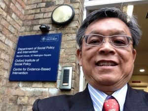 Visiting Fellow in Oxford