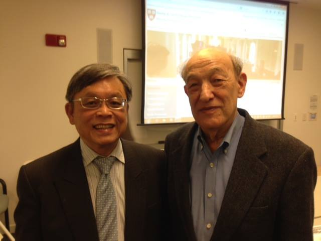 tan jee say with prof ezra vogel